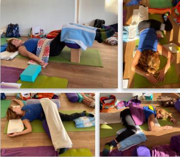 restorative practice  core yoga